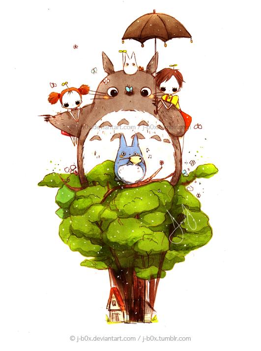 Tree Dwellers by j-b0x