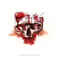 Life in Skull by jb0xtchi