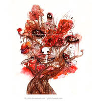 Red Eye Tree by jb0xtchi