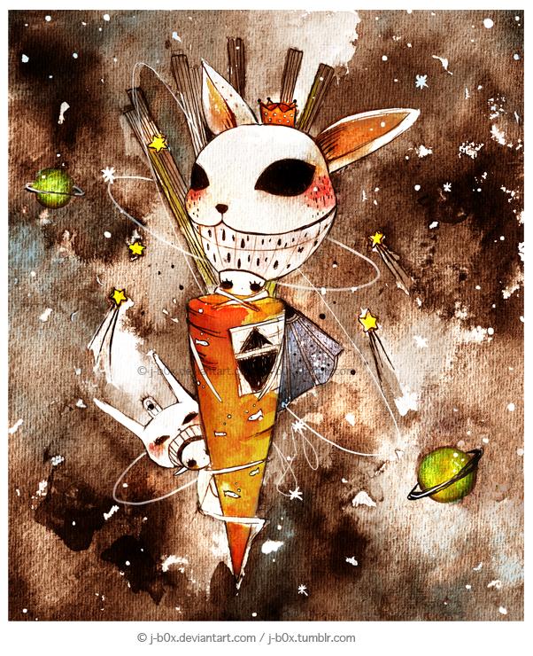 The Carrot Rocket by j-b0x