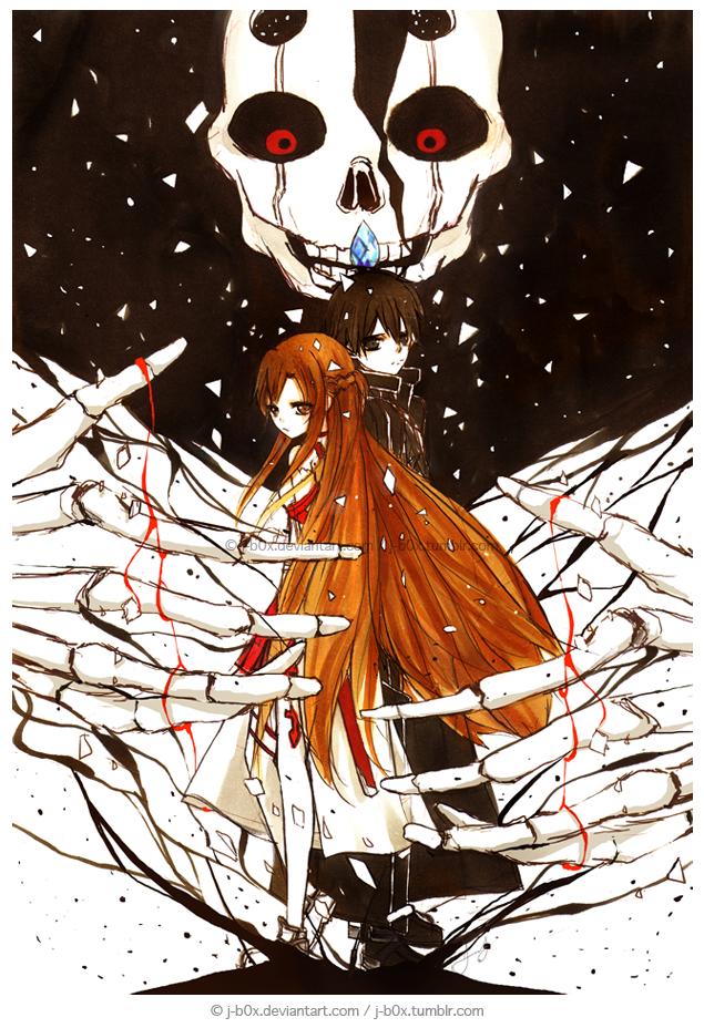 Sword Art Online - Death Confetti by j-b0x