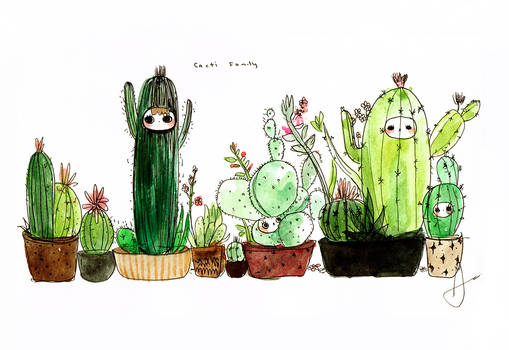 The Cacti Family