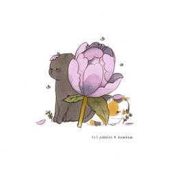 Pebbles + Bambam - Flowers