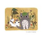 Pebbles + BamBam - Totoro Cosplay