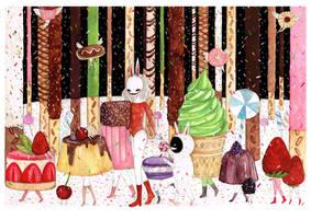 Dessert Parade - Long Nights by jb0xtchi