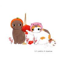 Pebbles + Bambam Happy Lunar new year by jb0xtchi