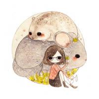 Commission - Cute pets by jb0xtchi
