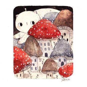 Mushroom Town by jb0xtchi