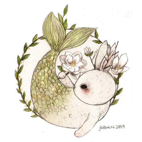 Mermay #2 - Magnolia Flower by jb0xtchi