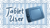 Tablet User Stamp by MiuShimazu
