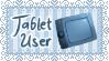 Tablet User Stamp by MiuShimazu