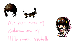 Mix hair #5 by Colurize