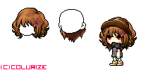 Mix Hair #10 by Colurize