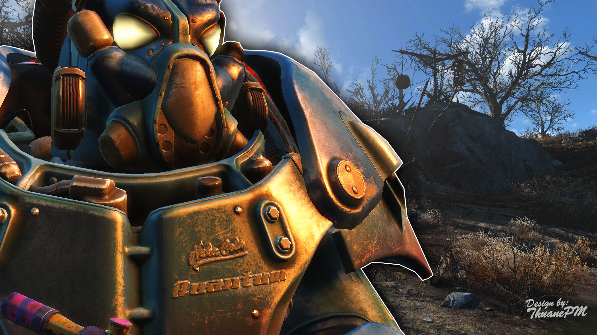 Fallout 4 Wallpaper Nuka Cola Quantum Powerarmor By Thuanepm On