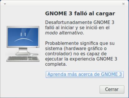 Gnome Fallback