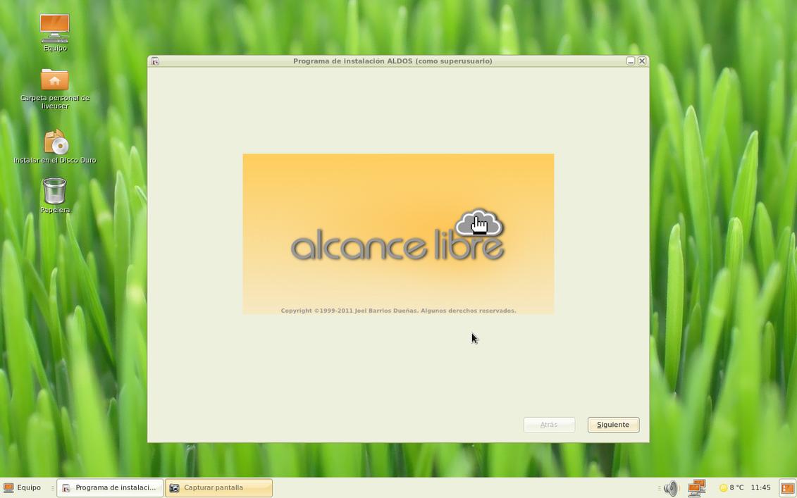 Instalando ALDOS 1.4.2