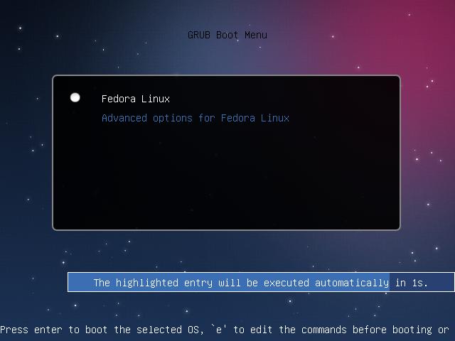 Grub 2 Theme en Fedora 17