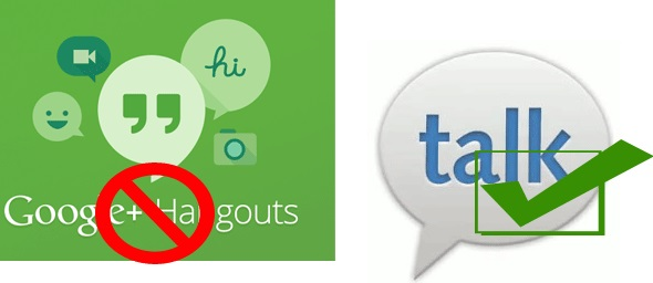 Gtalk vs Hangouts