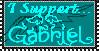 Stamp- Gabriel by Spazzfox
