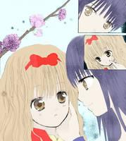 RimaHiko manga colored by xTakado