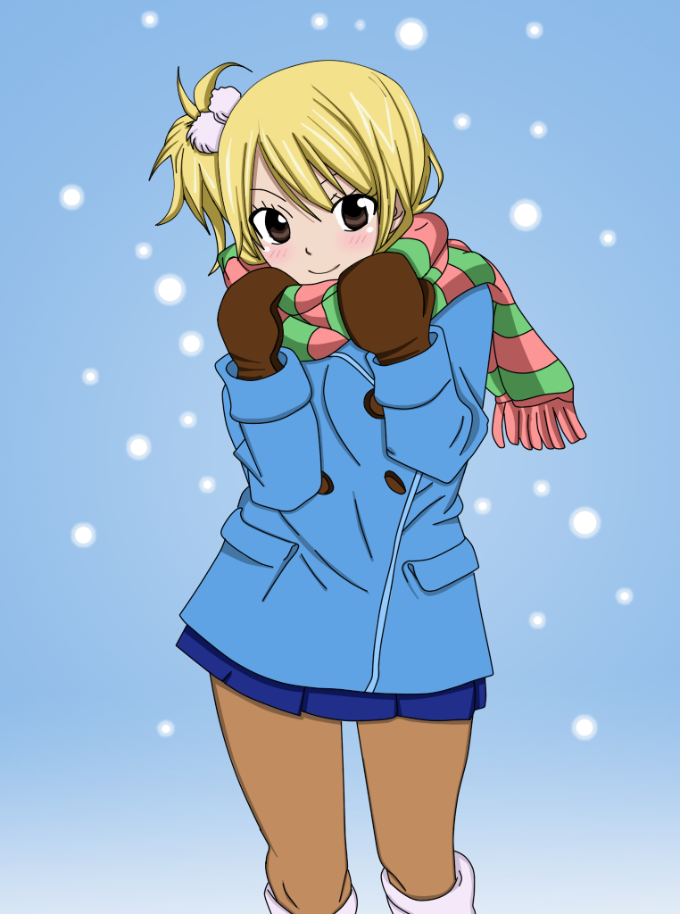 Winter Lucy by xTakado