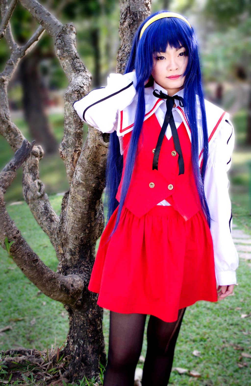 Una de las parejas yuri m0e1s famosas y queridas por el fandom, hechas cosplay, si efectivamente son las miko del sol y