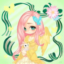 gijinka:Fluttershy by bnob