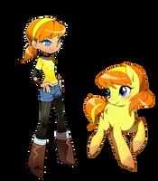 April pony by bnob