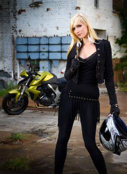 Biker Girl - CB1000R