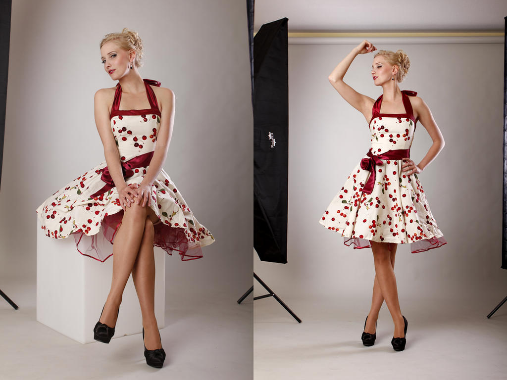 Cherry Pin Up - Front