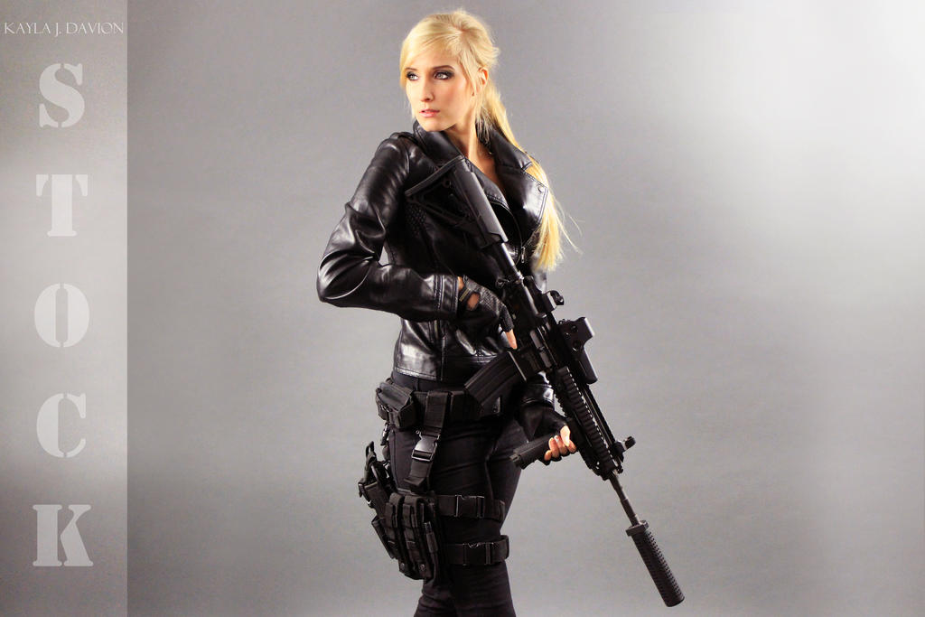 Agent Olesia Anderson Stock 3 by KaylaDavion