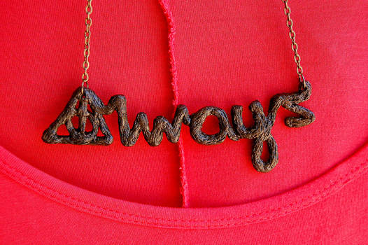 Always - Harry Potter Inspired Necklace