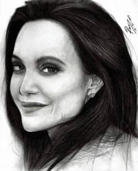 Fan Art Angelina Jolie by artechx