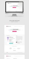Encore Bazaar Website Concept