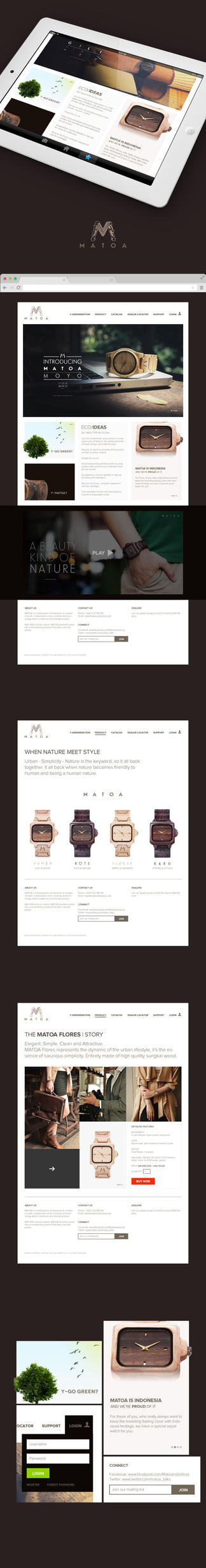 Matoa Redesign Concept by leoaw