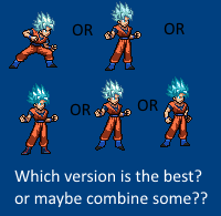 Super Saiyan God Super Saiyan Goku JUS test by LightNorthwest