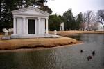 Foggy Mausoleum front