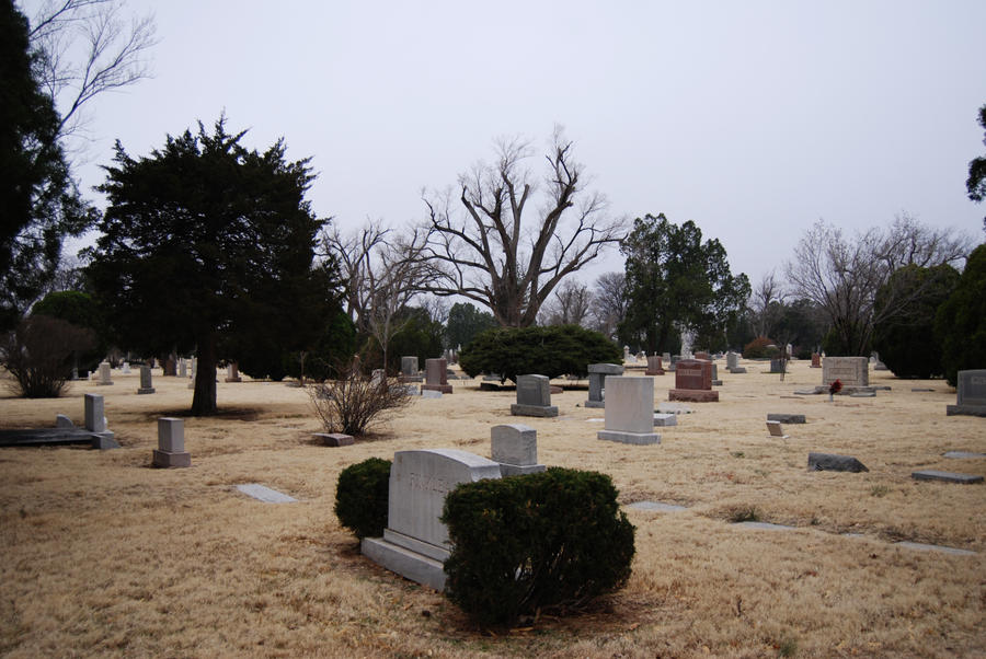 Cemetery: Tombstones 2 by Stock-by-Kai