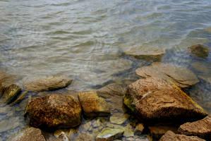 Possum Kingdom Lake: Rocks 4 by Stock-by-Kai