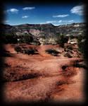 Stock Background Desert Mesa