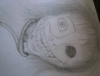Alister half human by OctoberZombieClown
