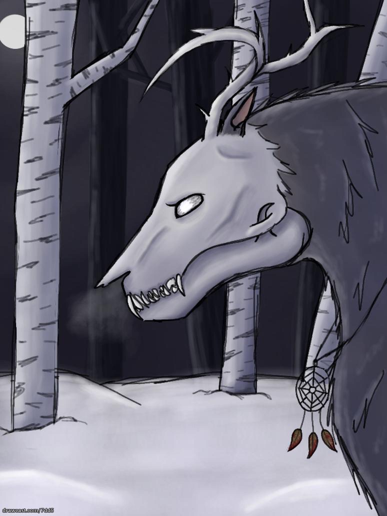Wendigo by WolvesLover2014