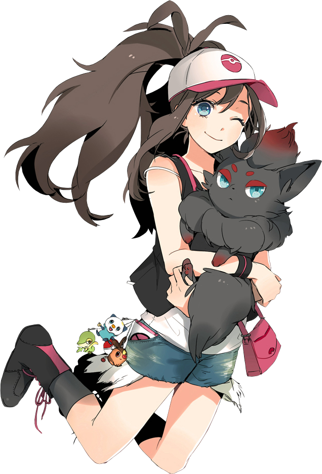 Pokemon Hilda Render by KatKoyoX