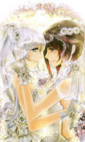 Ruby's wedding by TradingPlague2