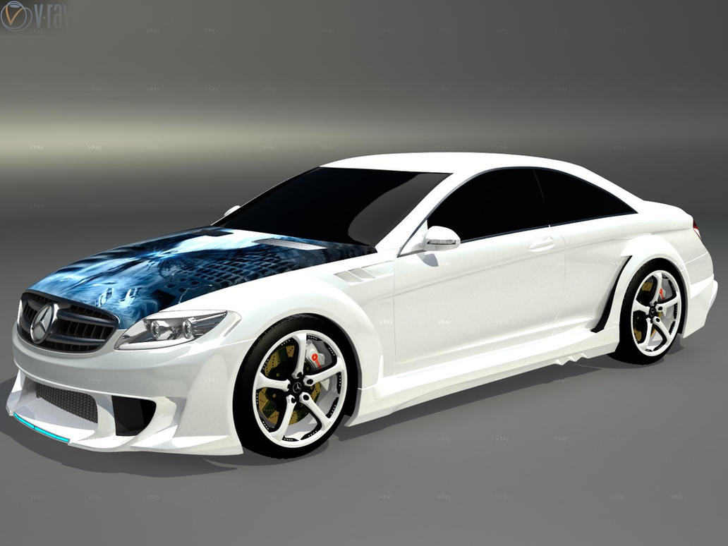 mercedes benz cl 500 tuning by faith120 on deviantart