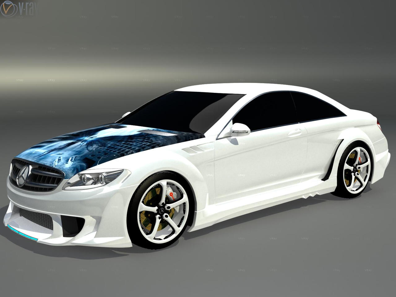mercedes benz cl 500 tuning by faith120 on deviantart. Black Bedroom Furniture Sets. Home Design Ideas