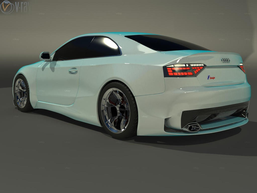 audi a5 tuning back by faith120 on deviantart. Black Bedroom Furniture Sets. Home Design Ideas