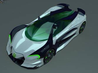 Honda Concept 3 by faith120