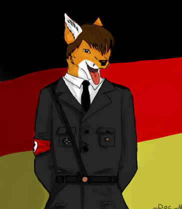 how to say fox in german