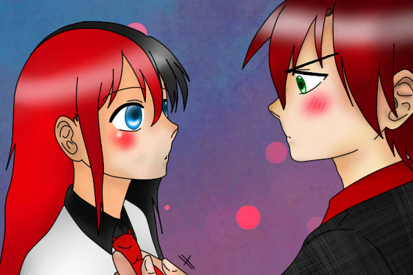 Tyka and Takashi (Soul Eater OC's)~ by MikuChanx3